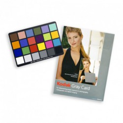 X-RITE COLOR CHECKER KODAK GRAY CARD